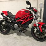 Monster 796, prachtige naked bike