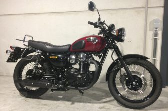 W800 special edition, prachtmoto